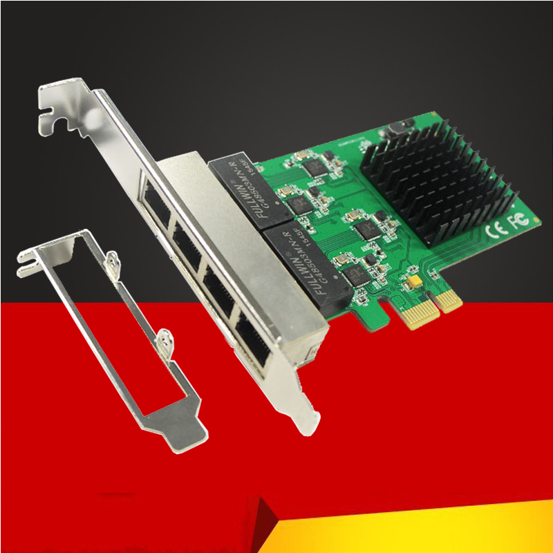 BTBcoin Network Cards PCI Express PCI E Network Card 1000Mbps Gigabit Ethernet 10/100/1000M RJ 45 LAN Adapter Network Controller