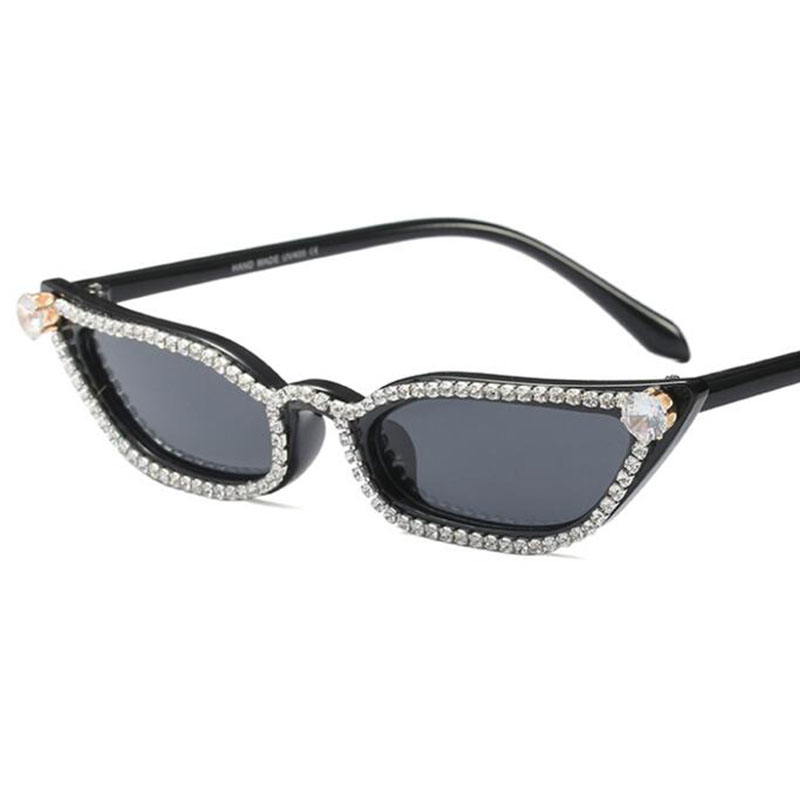 Retro Vintage Fashion Rhinestones Womens Cat Eye: Aliexpress.com : Buy Luxury Brand Beautiful Fashion Small