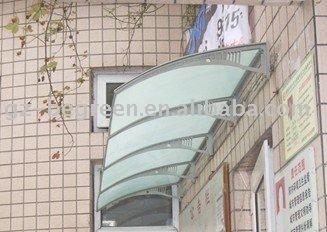 YP60320, 60X320 cm, tampa da janela, suporte de plástico com PC folha contínua