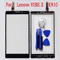 5.5 дюймов Для Lenovo VIBE Z K910 Сенсорный Экран Спереди сенсорный экран Замена Стекла Мобильного Телефона Сенсорная Панель Датчик С Трек код