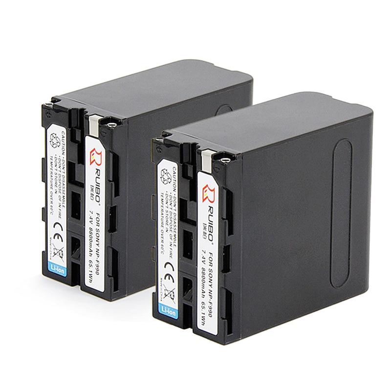 For SONY 8800mAh np f990 battery 1500C EA50 198P Z7C NX3 5 camera F970 NP F330 F530 F550 F570 NP F730 F750 F770 NP F930 F950