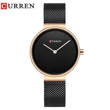 CURREN 9016 Women Watch New Quartz Top Brand Luxury Fashion Wristwatches Ladies Gift relogio feminino - DISCOUNT ITEM  47 OFF Watches