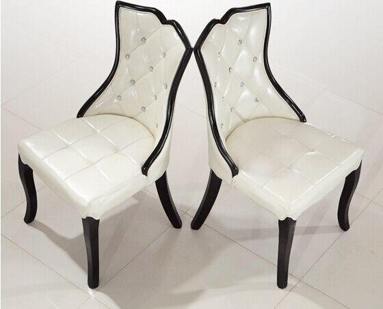 Nail chair. Korean soft bag. White chairs
