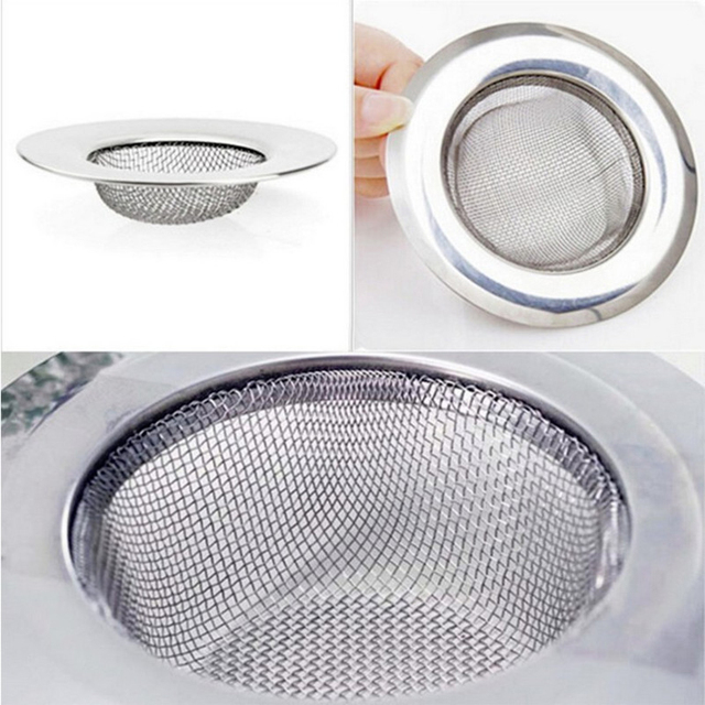 stainless steel floor drain kitchen sink filter sewer drain hair colanders strainers filter bathroom sink shower. beautiful ideas. Home Design Ideas
