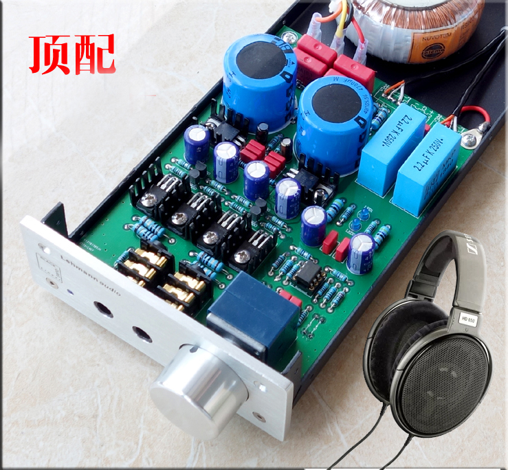 2017 New Nobsound Hi-Fi Stereo Audio Amplifier Preamp Inspired by LEHMANN Circuit 2018 latest nobsound hi end transistor pre amplifiers stereo hi fi preamp reference level