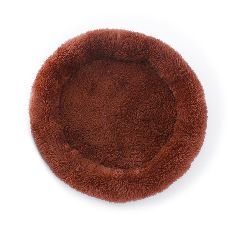 Новинка, маленькая морская кровать хомяка, домик, зимняя теплая белка, ежик, кролик, Шиншилла, коврик для кровати, гнездо для дома, аксессуары для хомяка - Цвет: Brown