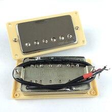Nouveau Wilkinson LP SG guitare électrique Humbucker micros cou & pont WVC Chrome argent or couverture fabriqué en corée