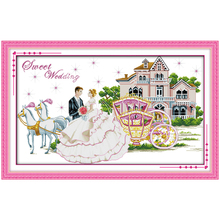 Buy cross stitch wedding patterns free and get free shipping on ...