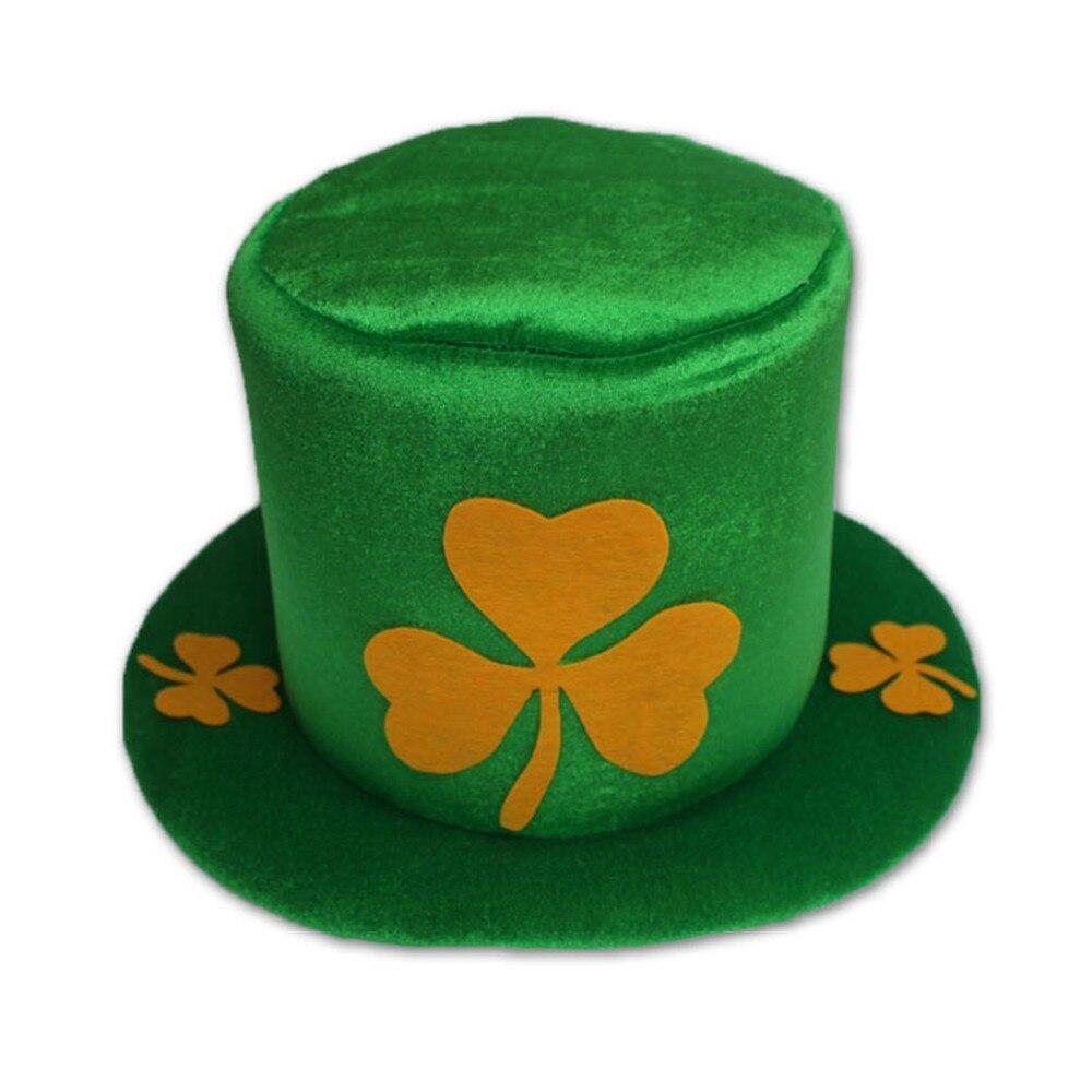 1 Pc Lustige Clover Green Leprechaun Top Hut Stirnband Irish Saint Patrick Party Kostüm Online Shop Bekleidung Zubehör Filzhüte