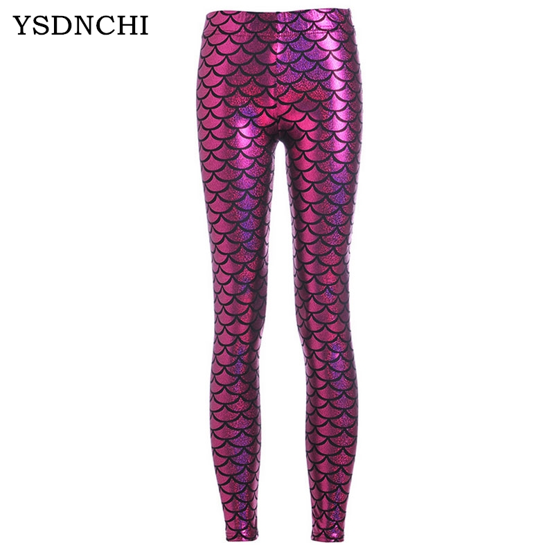 100% Wahr Ysdnchi Simulation Meerjungfrau Hosen Sexy Leggings Digital Gedruckte Bunte Leggins 2018 Workout Neue Frauen Skala Fitness Hosen In Verschiedenen AusfüHrungen Und Spezifikationen FüR Ihre Auswahl ErhäLtlich