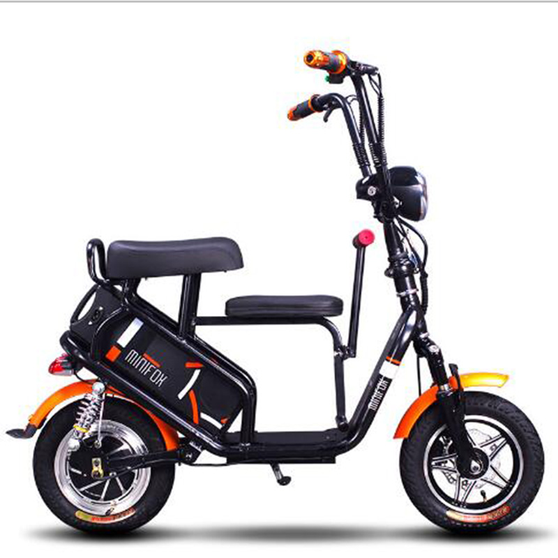 Parenting Electric Bike 48V 250w 16AH Cycle Lithium Battery Electric font b Bicycle b font Front
