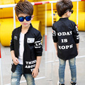 Teenage Boys Jackets Letter Coats For Boys Kids motion Clothing Long Sleeve Children Outerwear 4 5 6 7 8 9 10 11 12 13 14 years