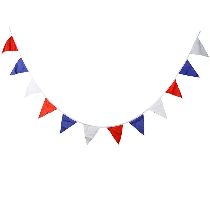 Триколор хлопок баннер детский день рождения украшения флаг фото фон Европа и США организации свадьбы