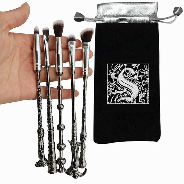 Harry Potter Wand Makeup Brush Set