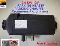 Ücretsiz Kargo Yeni 2kw 12 V Hava Dizel Isıtıcı Car Tekne Webasto Isıtıcı Ile Benzer kamyon RV Motorum Otomatik Hava Otopark Isıtıcı