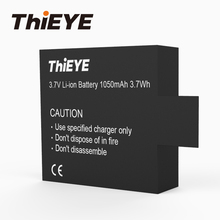 ThiEYE One 1050mAh Rechargeable Battery and One Charger for  i20 / i30+ / i60+ Sport Camera Action Accessories
