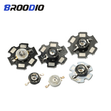 5pcs LED Diodes Lamp High Power Chips 1W 3W 5W IR 850nm Infrared Light Lamps Security Camera Emitter Surveillance 1Watt Star DIY цены онлайн