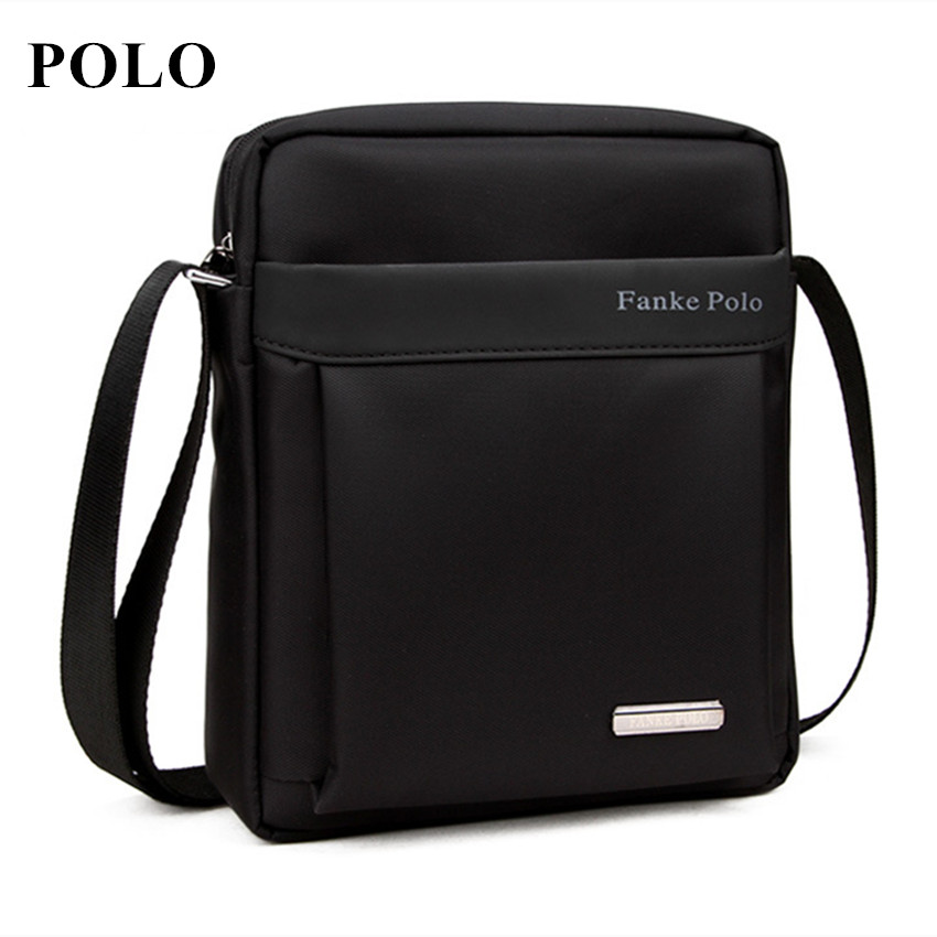 Brand POLO Men bag 2018 fashion mens shoulder bags, high quality oxford casual messenger bag business men's travel bags authentic polo golf double clothing shoes bags mens golf apparel travel bag bolsas zapatos double garment high capacity package
