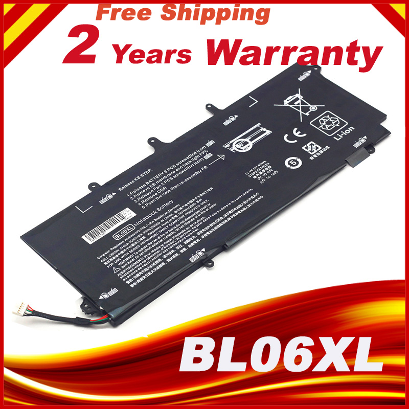BL06042XL HSTNN-W02C 722236-2C1 BL06XL batterie d'ordinateur portable Pour HP EliteBook Folio 1040 G0 G1 G2