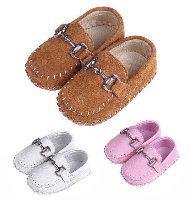 2015 nueva moda princesa niña zapatos de bebé mocasines niña suaves del niño del bebé chicos primeros caminante prewalkers infantiles