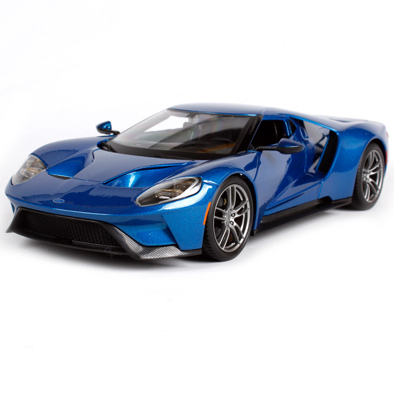 Maisto 1:18 2017 ford gt yellow silver blue car diecast exquisite luxury car toy model collecting car model for men gift 31384 yellow car model for 1 18 rover series i ltd 1948 minichamps classic collection diecast model car diy model customs made