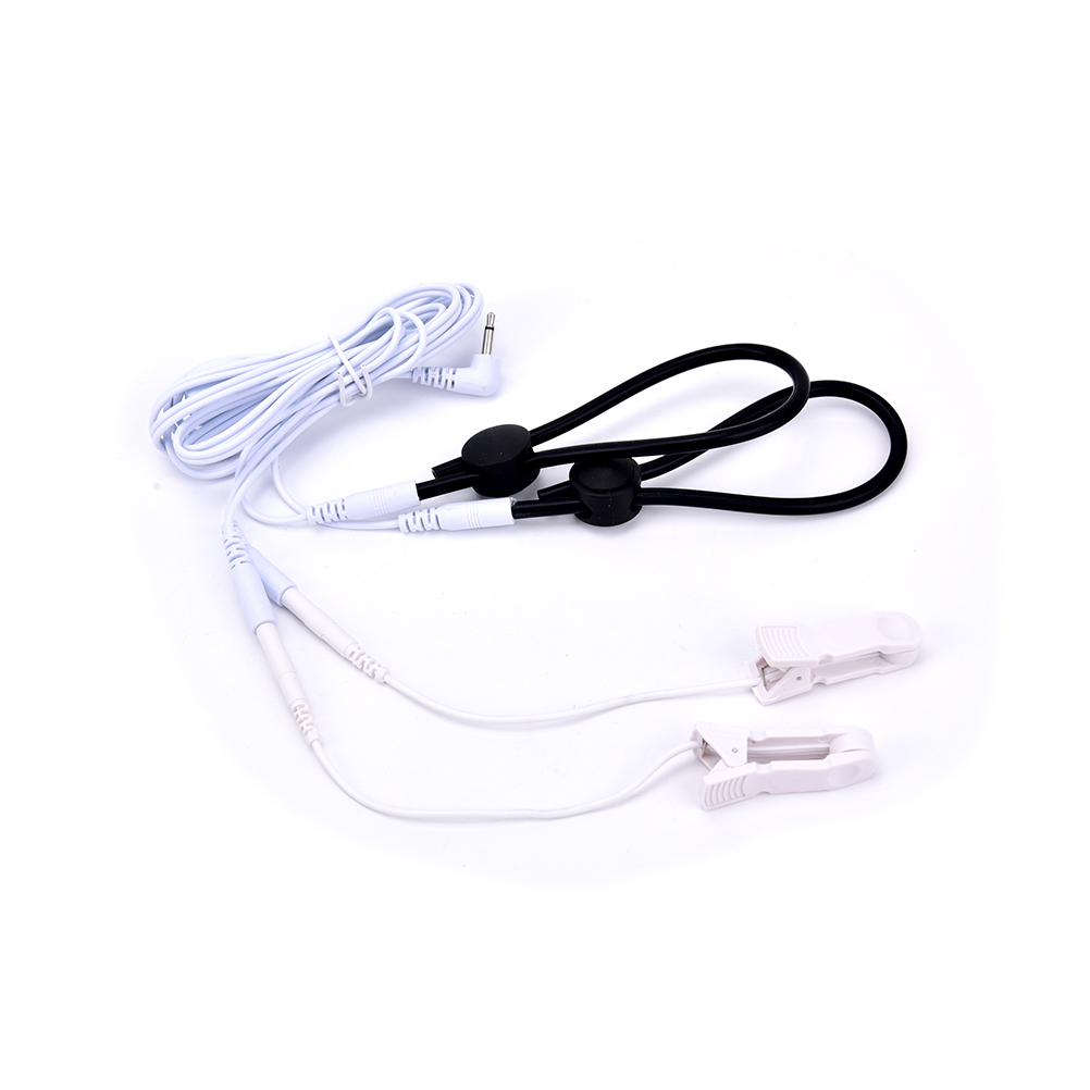 Medical Electric Pulse Massage Cables Physiotherapy Health Pads Special Electro Shock Nipple Clamps