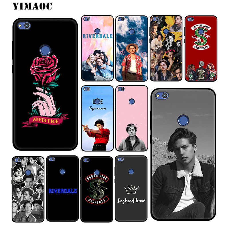 YIMAOC Riverdale Cole Sprouse Soft Case for Huawei Honor View 20 10 8X 8 8C 6A 7A 7X 7C Lite Pro Y9 Y7 Y6 Prime 2018 2017