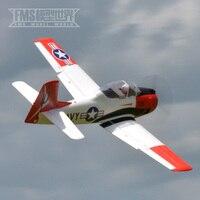 1100 мм T 28D Troy Пилотажная 3D с большой масштаб радио Управление RC модель самолета самолет 100% оригинал