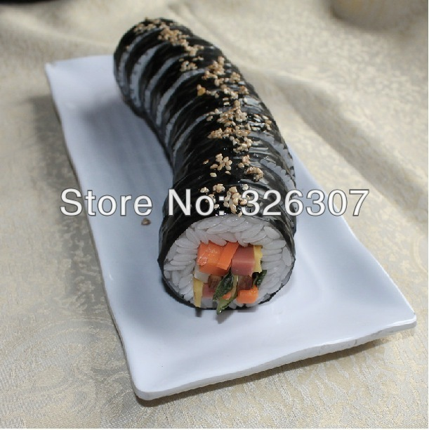 Customize artificial sushi model props circle model photography props simulation fake Japan dishes kimbap round Cinematography image