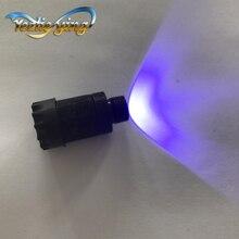 "1 pc 弓照準装置紫色の照明調節可能なヘイズレオスタット LED フィット 3/8 "" 32 Truglo PSE ため Topoint アーチェリー狩猟"