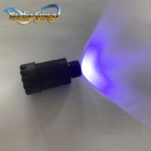 1 шт. устройство для лука, фиолетовое освещение, регулируемый туман, Реостат светодиодный подходит для 3/8 32 Truglo PSE Topoint для стрельбы из лука и охоты