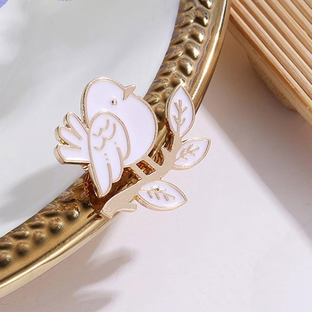 Cute Enamel Bird Pin Brooch For Women