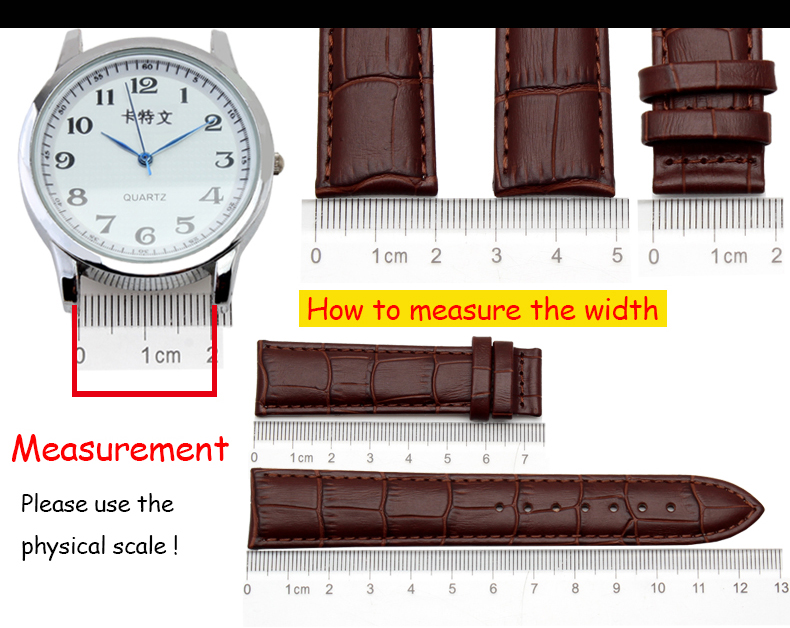 de metal pulseira 18mm 20mm 22mm extremidade