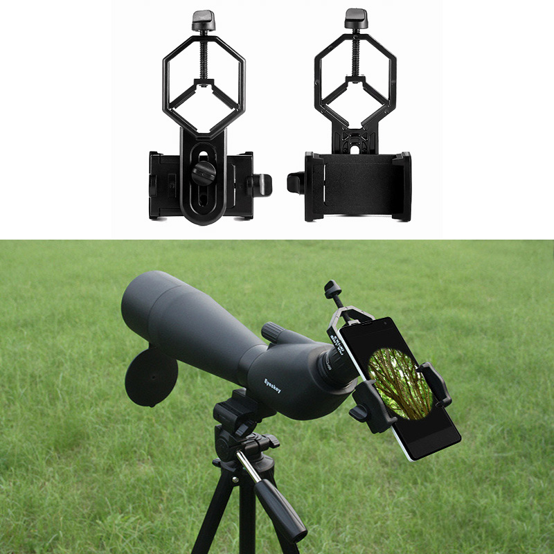 Outdoor Universal Holder Adapter Telescope Phone Adapter Mount Holder For Binoculars Monocular Spotting Scope Microscope