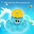 Hot venda de água de pulverização brinquedo do banho do bebê banho de chuveiro do banheiro banheira de água-pulverização brinquedo play sprinker água populares do bebê brinquedos