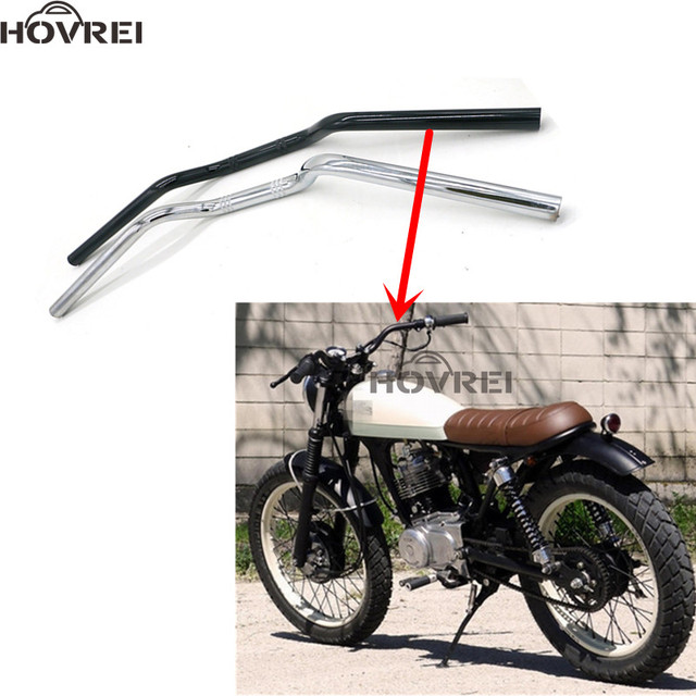 universal Motorcycle 7/8\'\' 22mm Handlebar Drag Bars For Cruiser ...