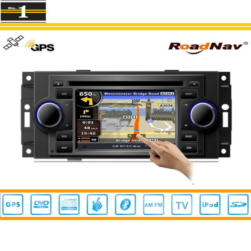 Android Car Multimedia Para Dodge Ram Cargador Calibre Radio CD Reproductor de D