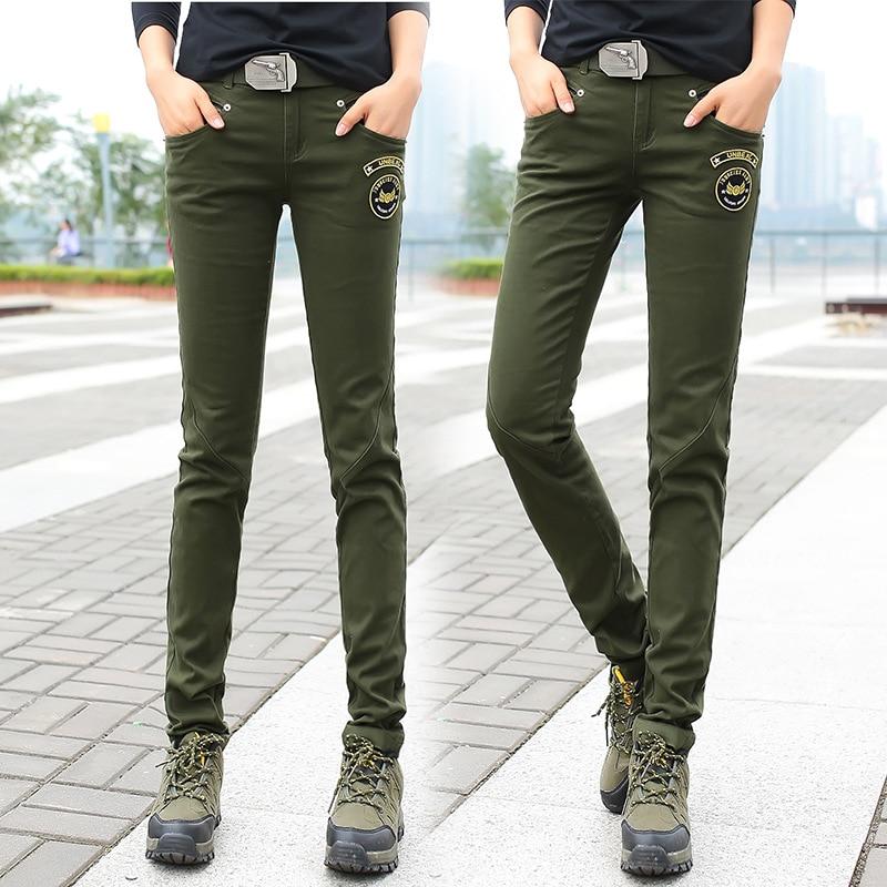 Online Get Cheap Womens Green Skinny Cargo Pants -Aliexpress.com ...