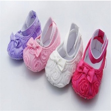 2016 Bowknot Princess Baby Girl Sapato Fashion Toddler Girl Moccasins For 0-12 Month Baby Burbry Prewalker Kids Shoes