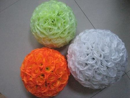 SPR 25cm 15pcs / lot unutarnje plastične poljubac loptu-cvijet loptu - Za blagdane i zabave - Foto 3