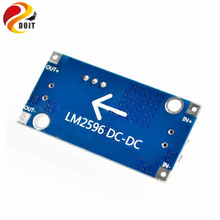 DOIT LM2596 LM2596S DC DC 4 5 40V Adjustable Step down Power Supply Module NEW High