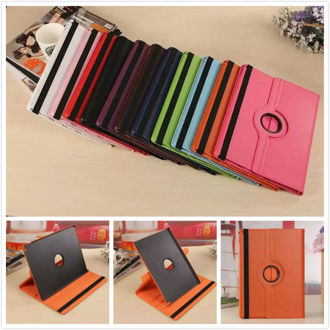 360 Rotating PU Leather Case Cover with Stand For Apple iPad Pro 12.9