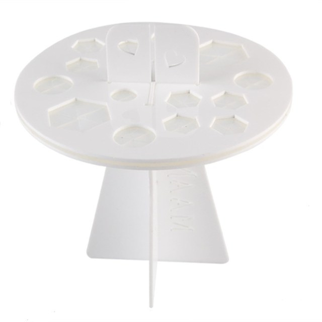 Newest Make up Brushes Dry Rack and Cleansing Gel Pad Brush Stand ...