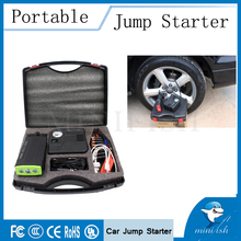 Multi-function Jump Starter  Emergency Car Auto Power Bank External Battery Charger with Electric Air Pump