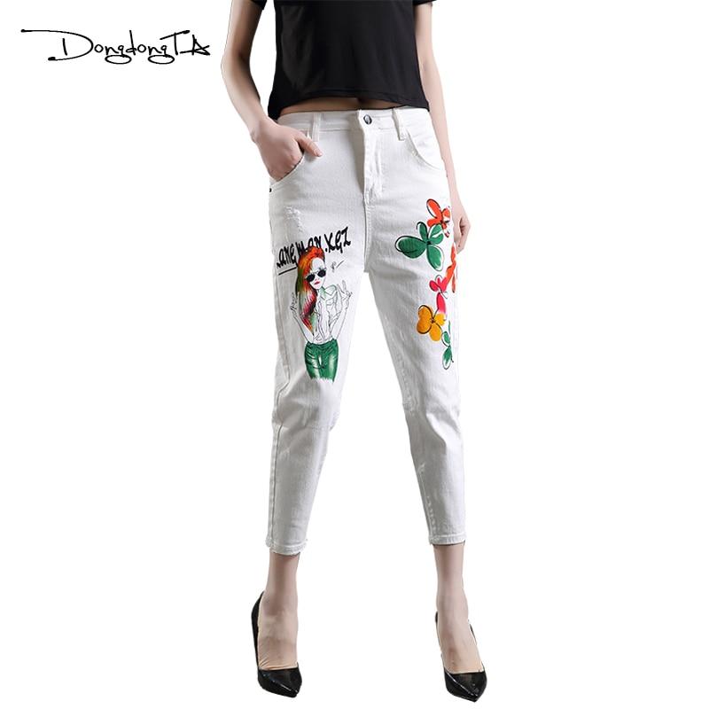 Dongdongta Cross-Pants Frauen Mädchen Loose Type Knöchellange Hosen - Damenbekleidung