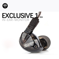 TFZ EXCLUSIVE 1 HIFI Eadphones High Quality Double Silver Plated Cable 12MM Magnetic Circuit Graphene Moving