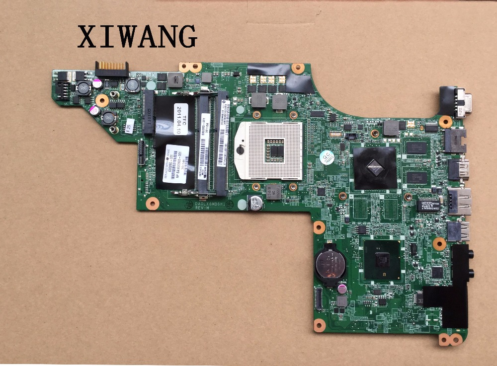 Free Shipping 630280-001 laptop motherboard for HP DV6 DV6-3000 HM55 Fully tested motherboard DA0LX6MB6H1 DA0LX6MB6F1 hot sale 603643 001 laptop motherboard for hp dv6 4000 hm55 fully tested mainboard mother boards da0lx6mb6f2