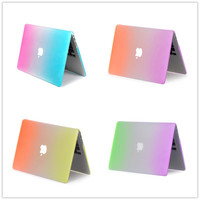 Slim Rainbow Matte Case For Apple Macbook Air 13 Case Air 11 Pro 13 Retina 12