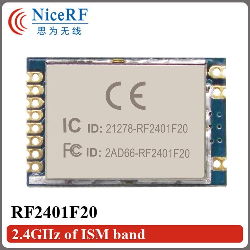 10pcs RF2401F20 2.4G υψηλής ενσωματωμένης - Εξοπλισμός επικοινωνίας - Φωτογραφία 2
