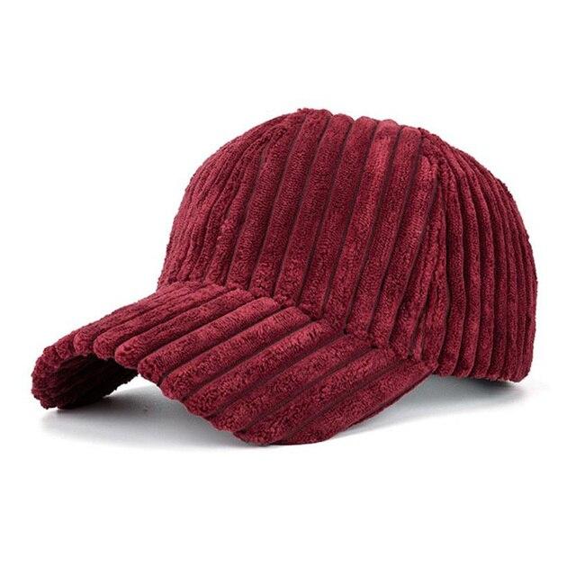 Winter Baseball Cap Stripes...